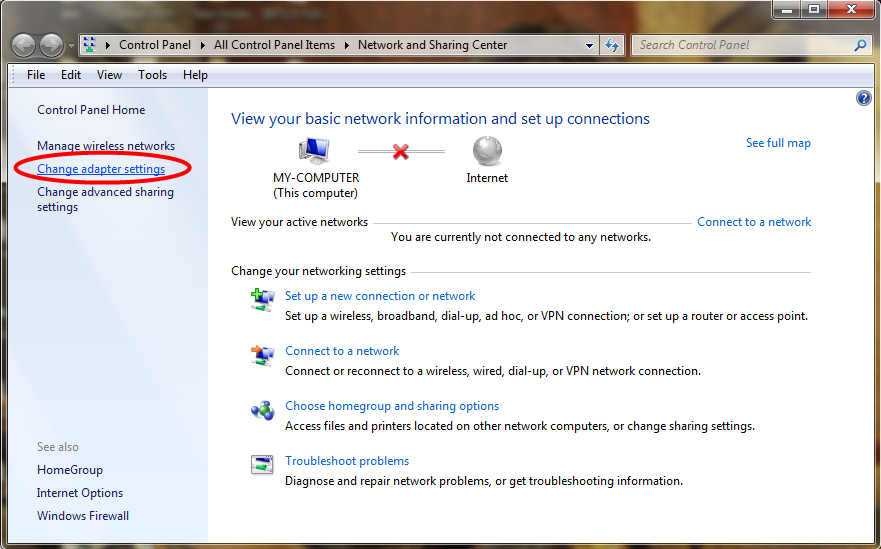windows 7 how to change network names
